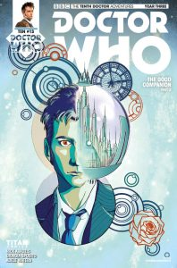 Doctor Who The Tenth Doctor Year 3 #13 Cover