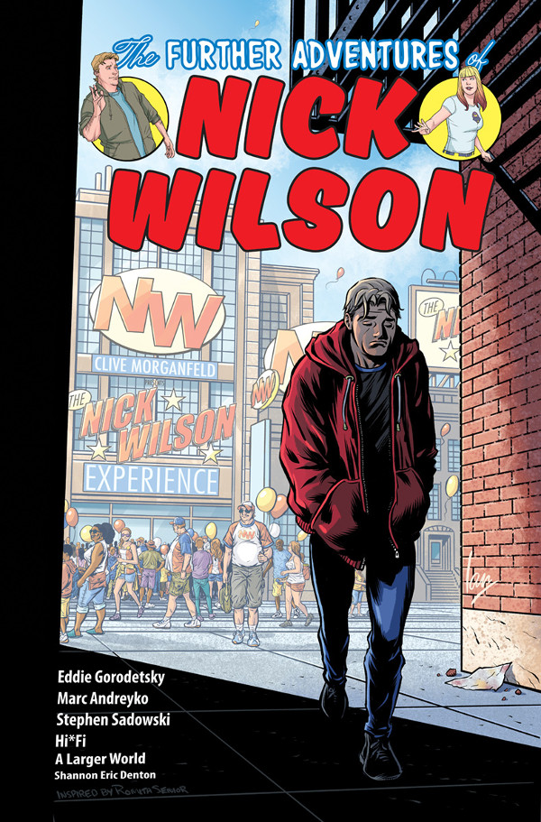 The Further Adventures Of Nick Wilson #5 Variant Cover