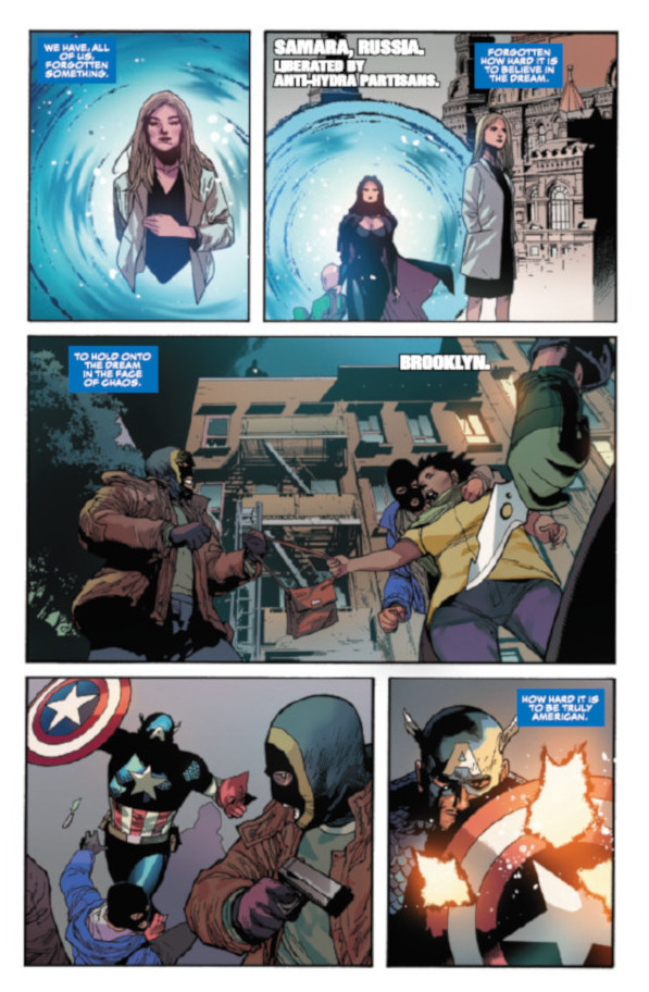 Captain America #1 Page 36