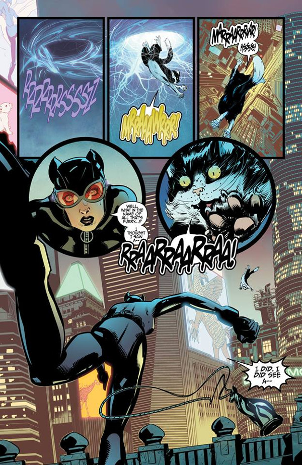 Catwoman Tweety Sylvester Special 1 Page 3