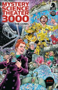 Mystery Science Theater 3000 #1 Cover