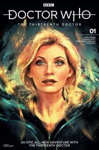 Doctor Who The Thirteenth Doctor #1 Cover