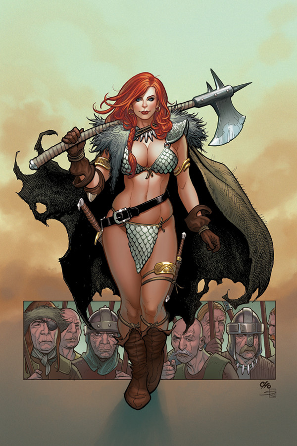 Red Sonja #1 Fank Cho Cover