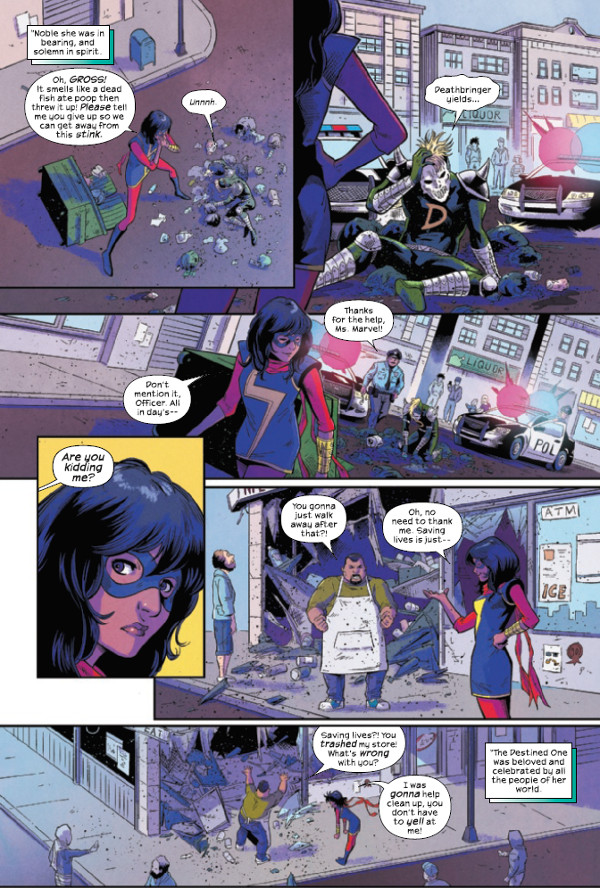 Magnificent Ms. Marvel #1 Page 1