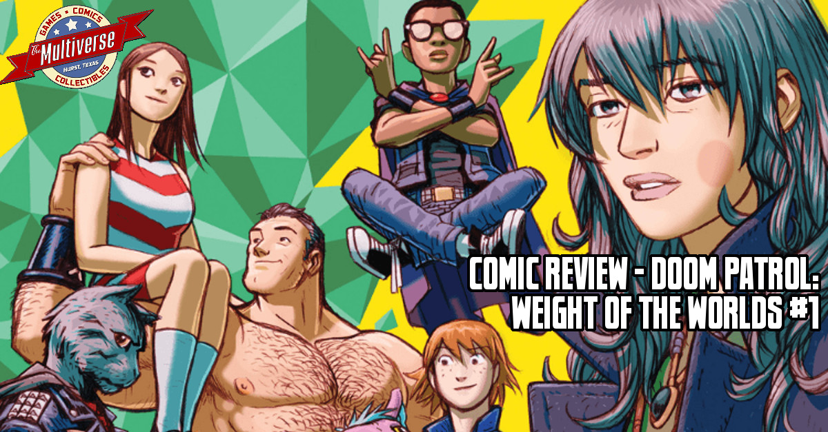 Doom Patrol The Weight Of The Worlds #1 Banner