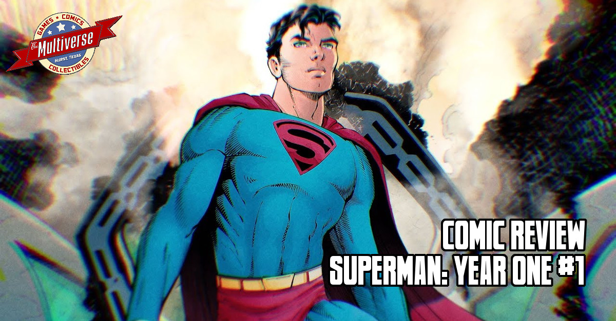 Superman Year One #1 Banner