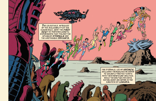 History of the Marvel Universe #1 Page 1