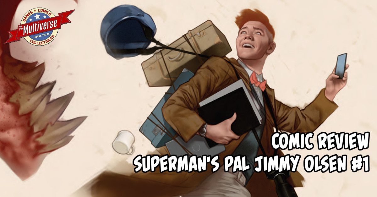 Superman's Pal Jimmy Olsen #1 Banner