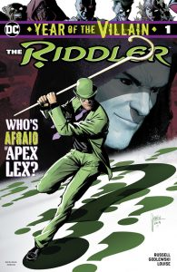 Riddler Year Of The Villain #1 Cover