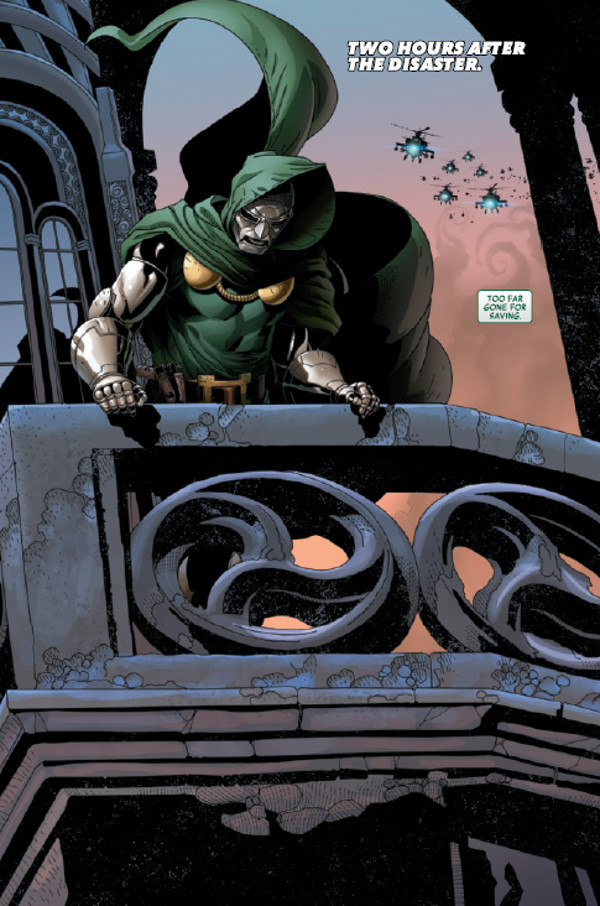 Doctor Doom #1 Preview Page