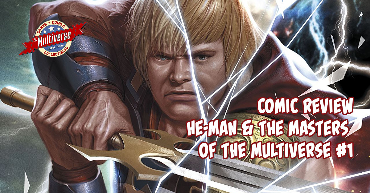 He-Man And The Masters Of The Multiverse #1 Banner