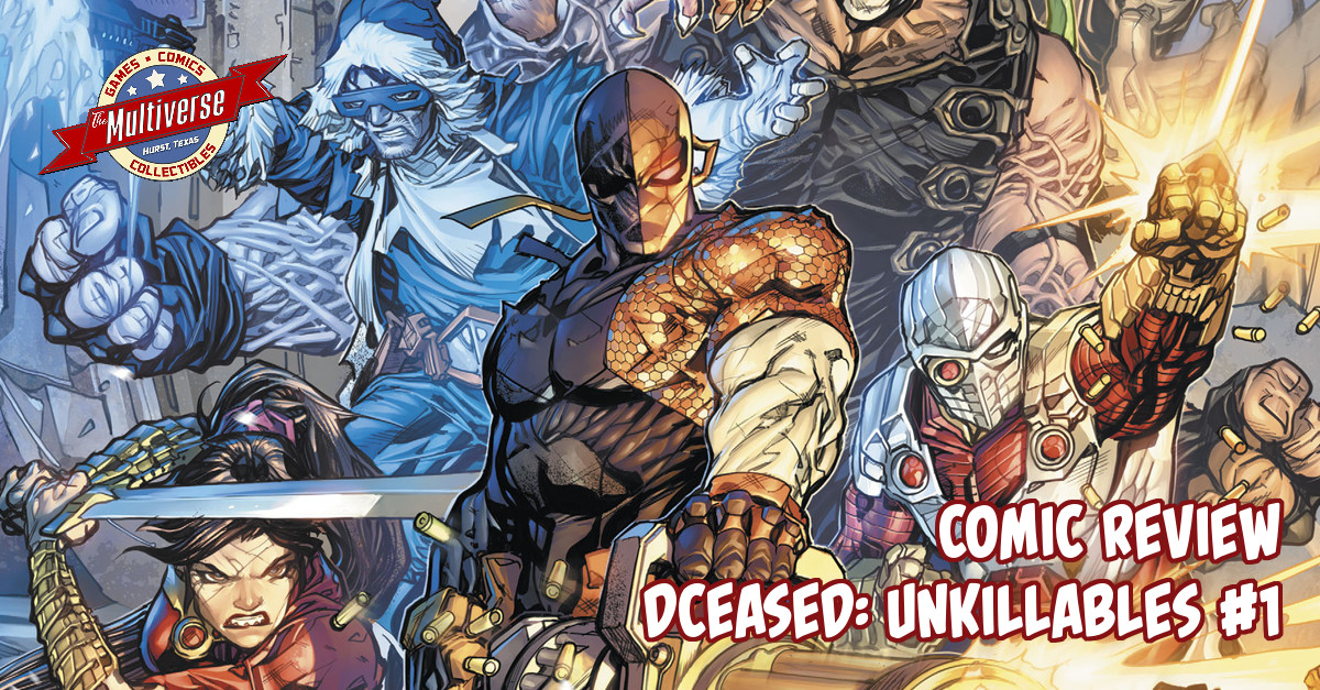 DCeased The Unkillables #1 Banner