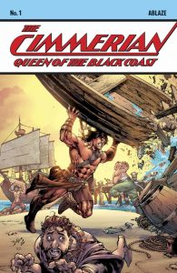 The Cimmerian Queen of the Black Coast #1 Cover