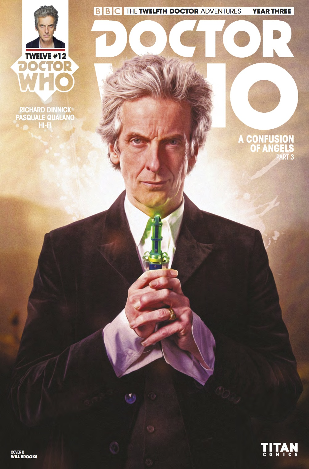 Doctor Who Twelfth Doctor Year Three #12 Cover