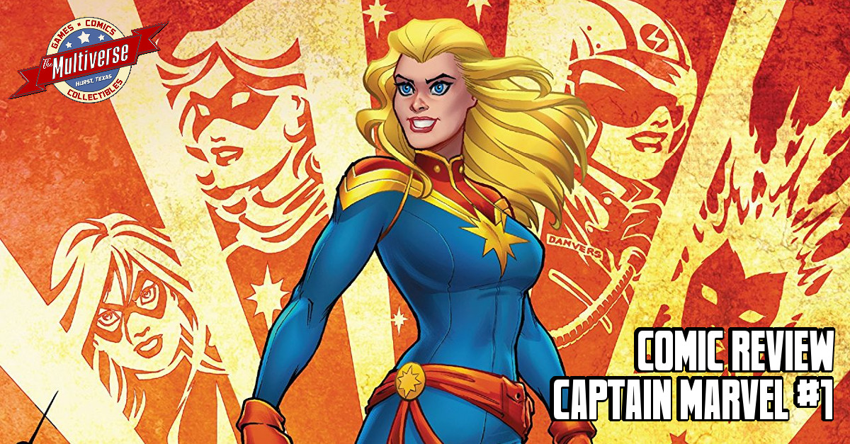Captain Marvel (2019) #1 Banner