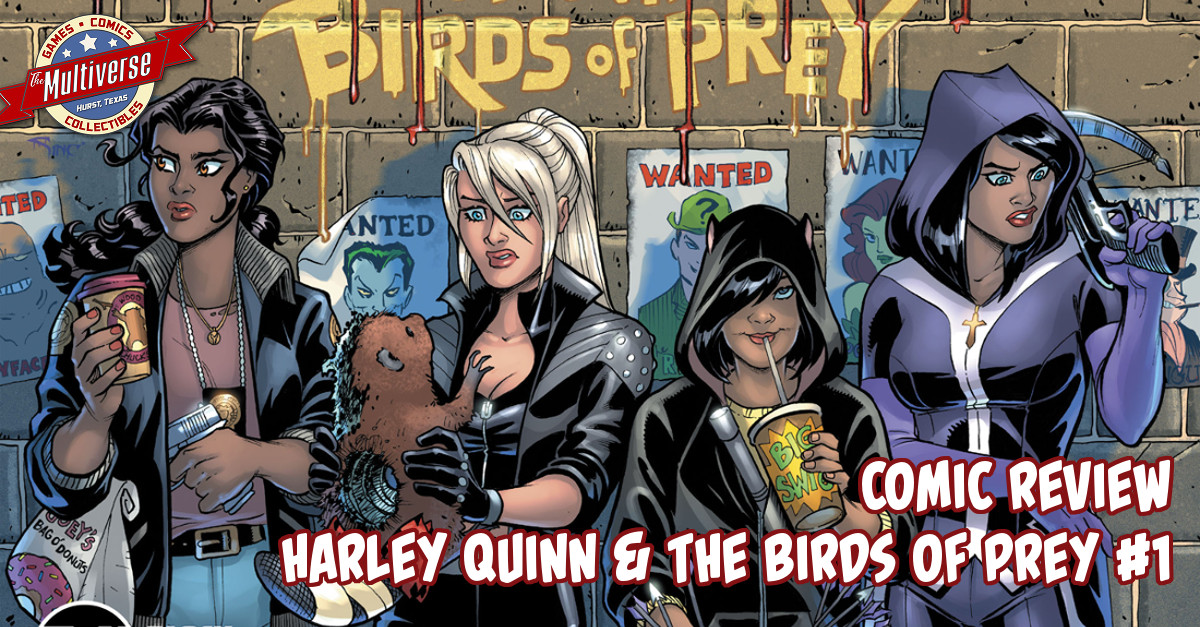 Harley Quinn and the Birds of Prey #1 Banner