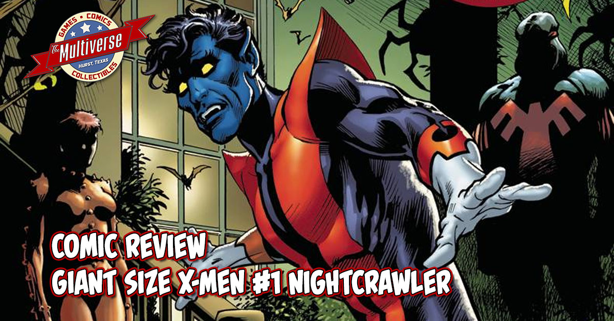 GIANT SIZE X-MEN #1 NIGHTCRAWLER BANNER