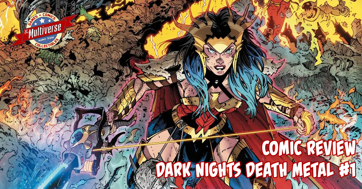 Dark Nights Death Metal #1 Banner